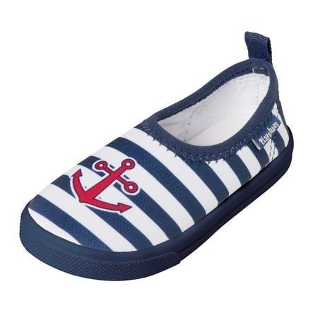 Playshoes Protección UV Aqua-Slipper Maritim