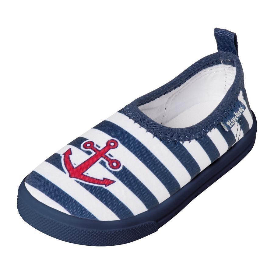 Playshoes UV-bescherming Aqua-Slipper Maritim