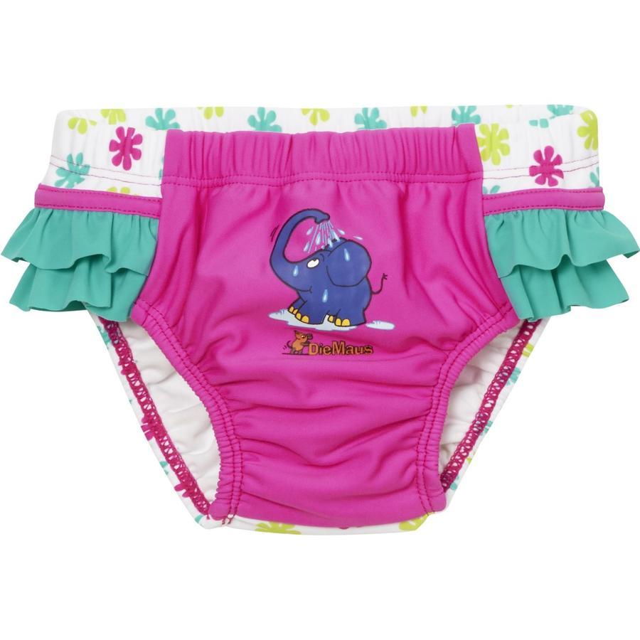 Playshoes Pantalon de bain à couche-culotte avec protection UV La souris rose
