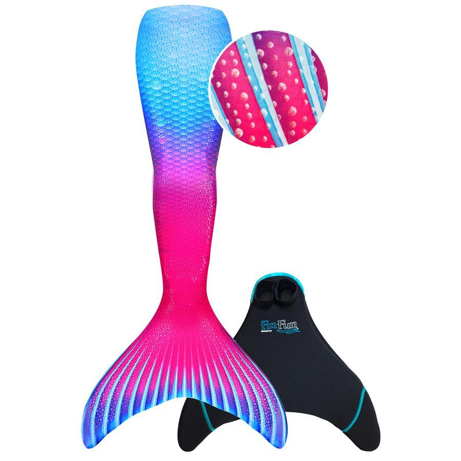 XTREM Toys and Sports - FIN FUN Cola de sirena Edición Limitada Talla M, Maui Splash Child