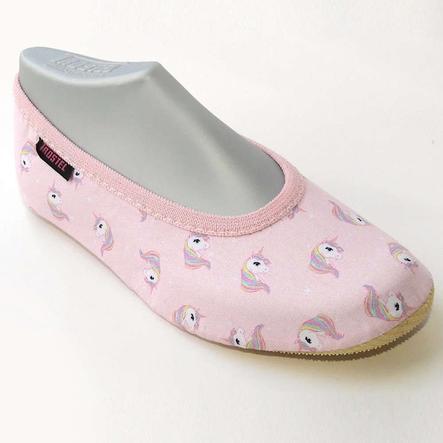 TROSTEL boty na gymnastiku jednorožec růžová