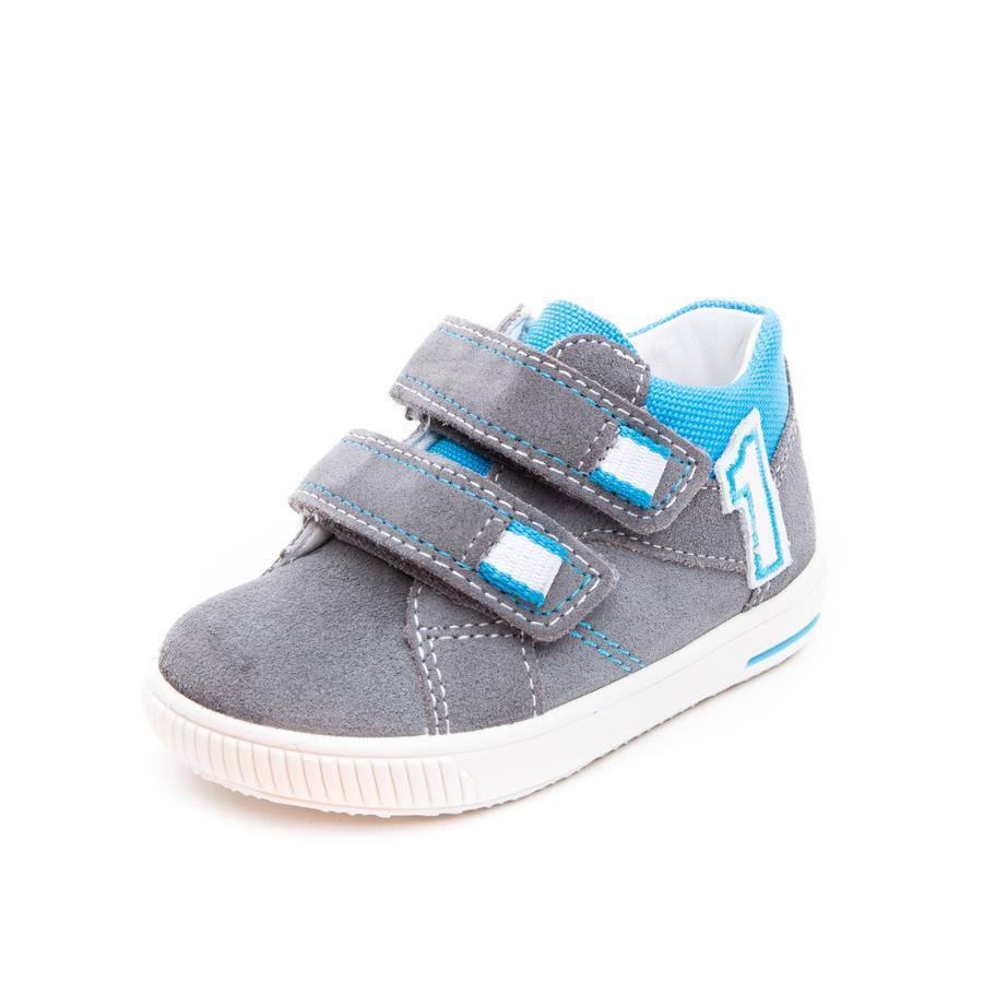 superfit Chaussure basse Moppy gris clair/bleu (moyen)
