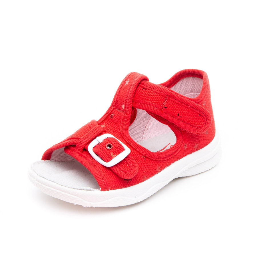 superfit Hausschuh Polly rot