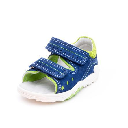 superfit Boys Sandale Flow vert/bleu