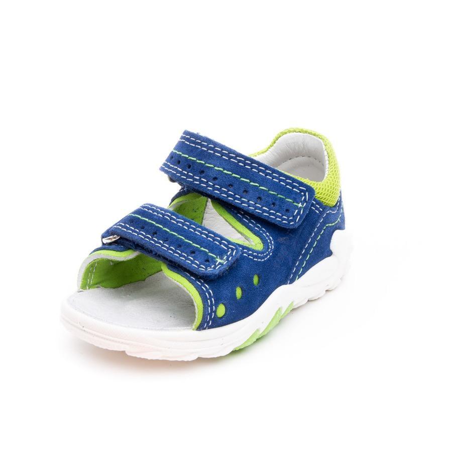 superfit Sandales enfant scratch Flow vert/bleu