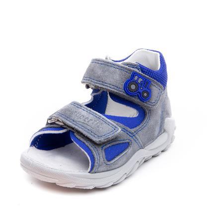 superfit Boys sandal Flow lys grå / blå (medium)