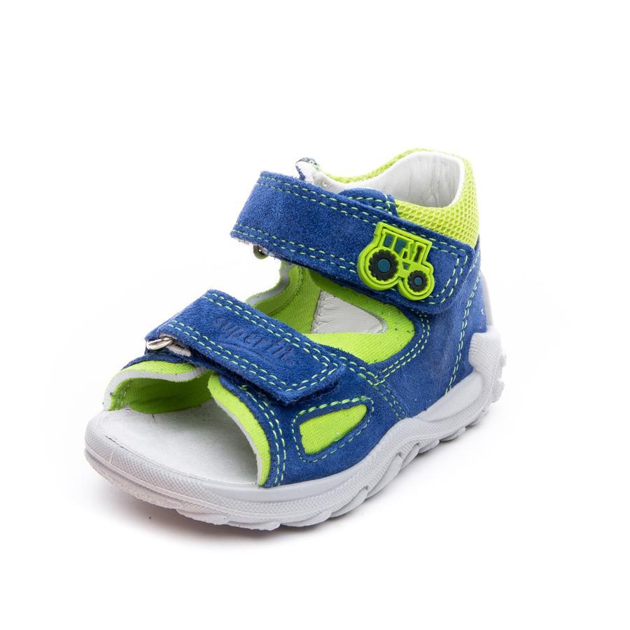 superfit Boys sandal Flow blå / grønn (medium)