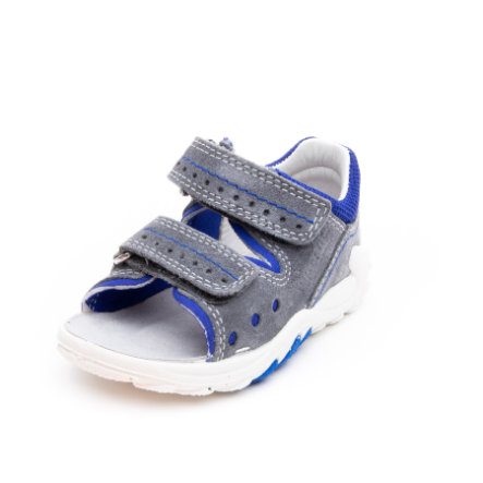 superfit Boys Sandale Flow grau/blau (mittel)