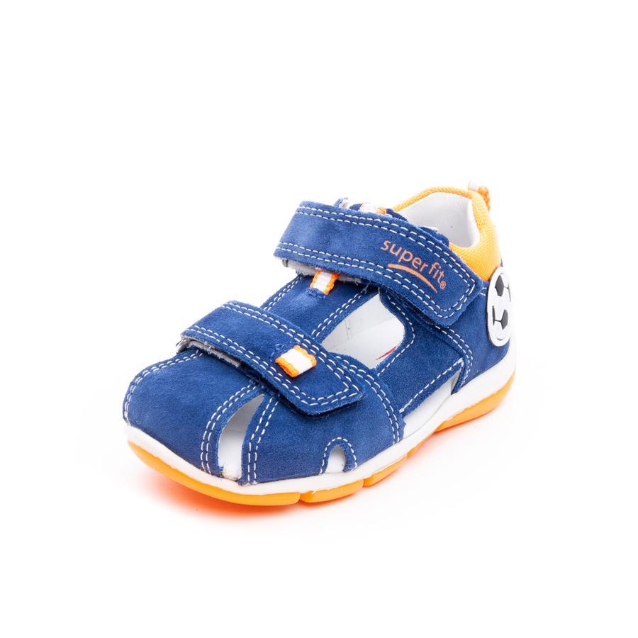 superfit Boys Sandalia Freddy azul/naranja (mediana)