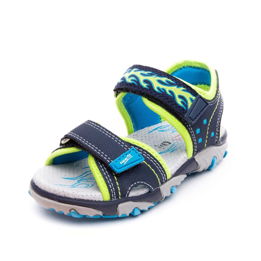 superfit Sandale Mike 2 bleu/vert (moyen)