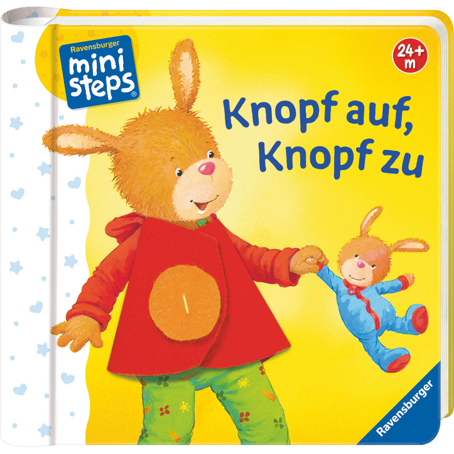 Ravensburger ministeps® Knopf auf, Knopf zu