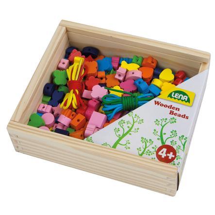 LENA Creatief - houten kralen houten kralen houten kistje