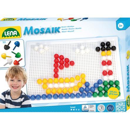 LENA® Mosaic Set Color, groß (120 Stck. x 15 mm)