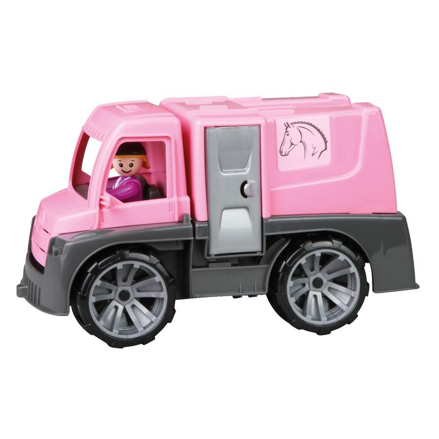 LENA® Camion transport de chevaux enfant TRUXX, figurine, 29 cm