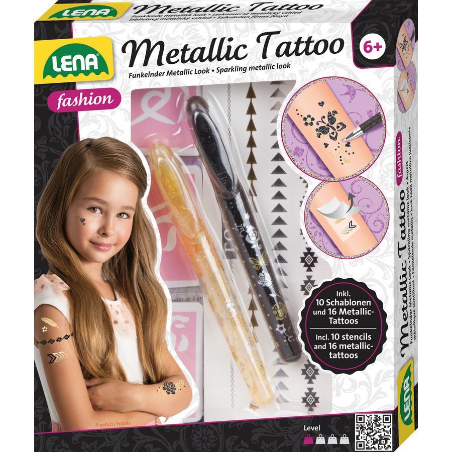 LENA Metal lic tetování