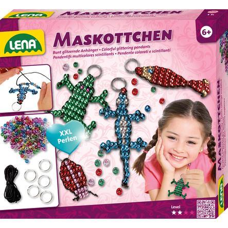LENA® Pareldieren Mascottes Sleutelhangers