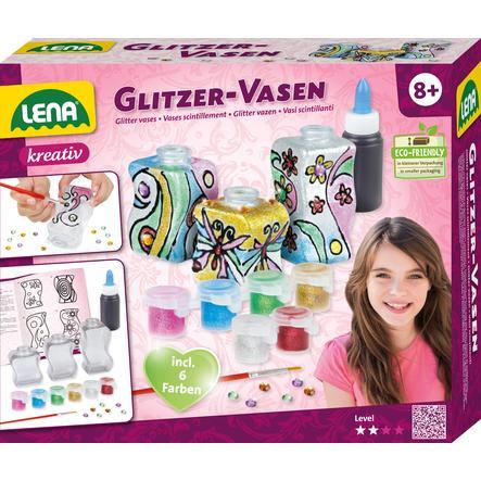 LENA® Glitzer-Vasen