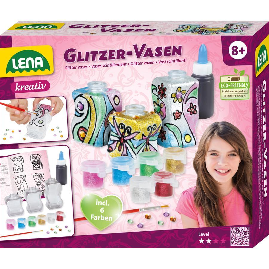 LENA glittervaser