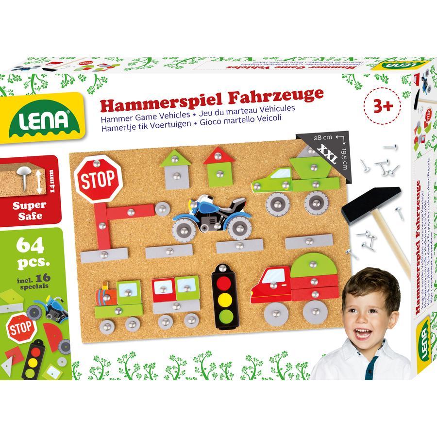 LENA® Hammerspiel Fahrzeuge