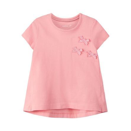 name it T-Shirt Nbfhulma flamingo roze