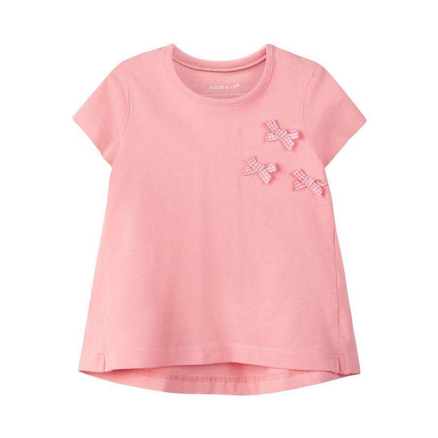 name it T-Shirt Nbfhulma flamingo pink