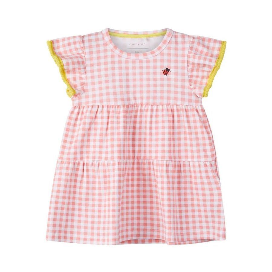 name it Dress flamingo rosa