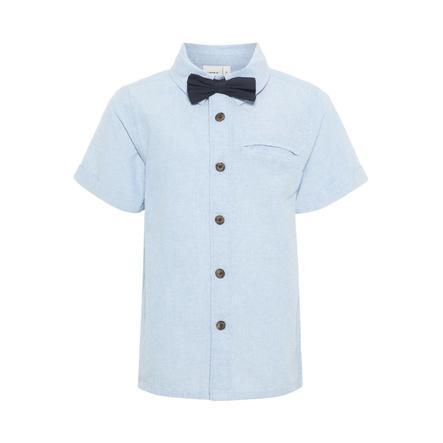 name it Boys Camisa Ashley Blue