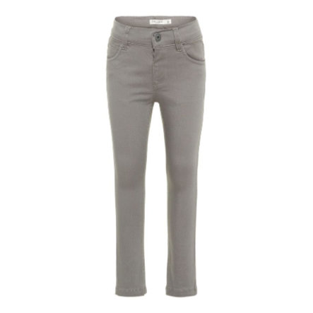 name it Boys Pantalon Nmmtheo gris givré