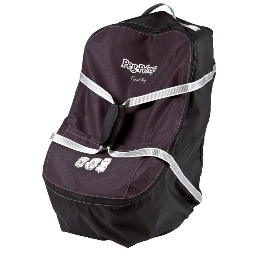 Peg Perego Reisetasche Travel Bag Kindersitz Schwarz