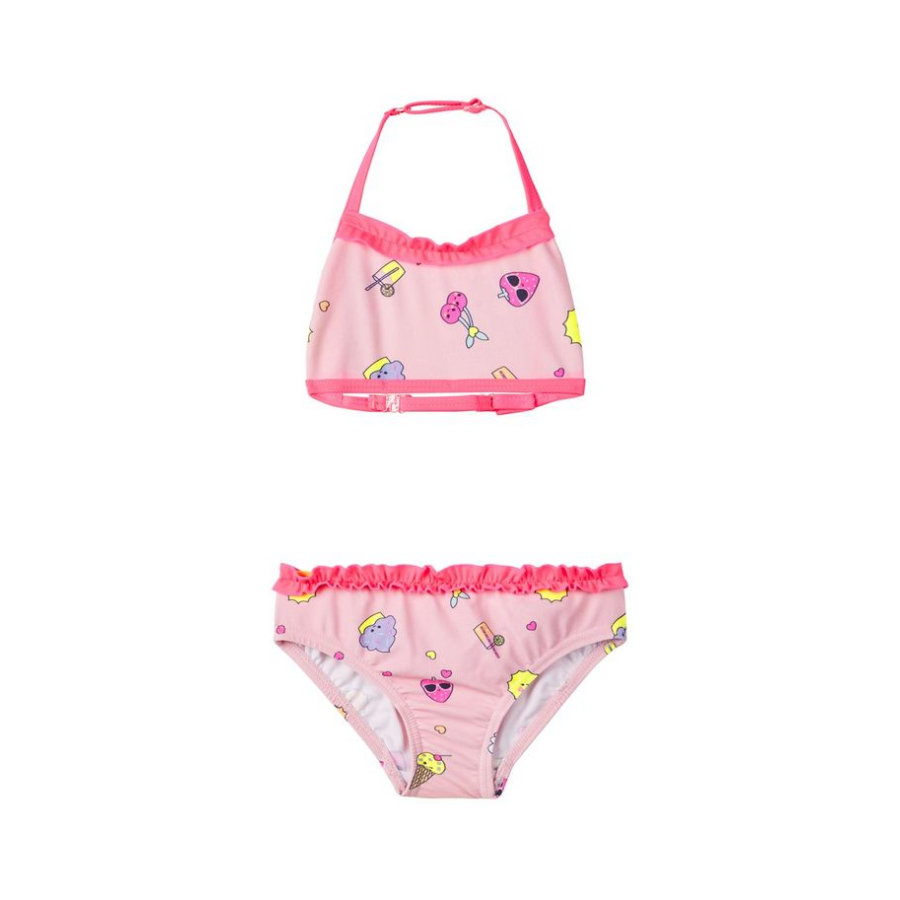name it Girl s Bikini Nmfzatcha prisme rose