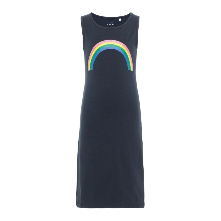 name it Girl s Dress Nkfvippa robe saphir foncé Rainbow