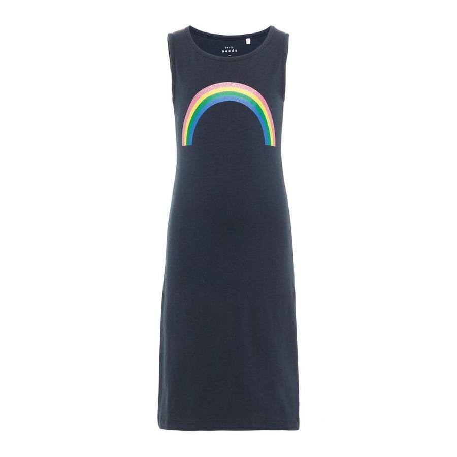 name it Girl s Vestido Nkfvippa zafiro oscuro Rainbow
