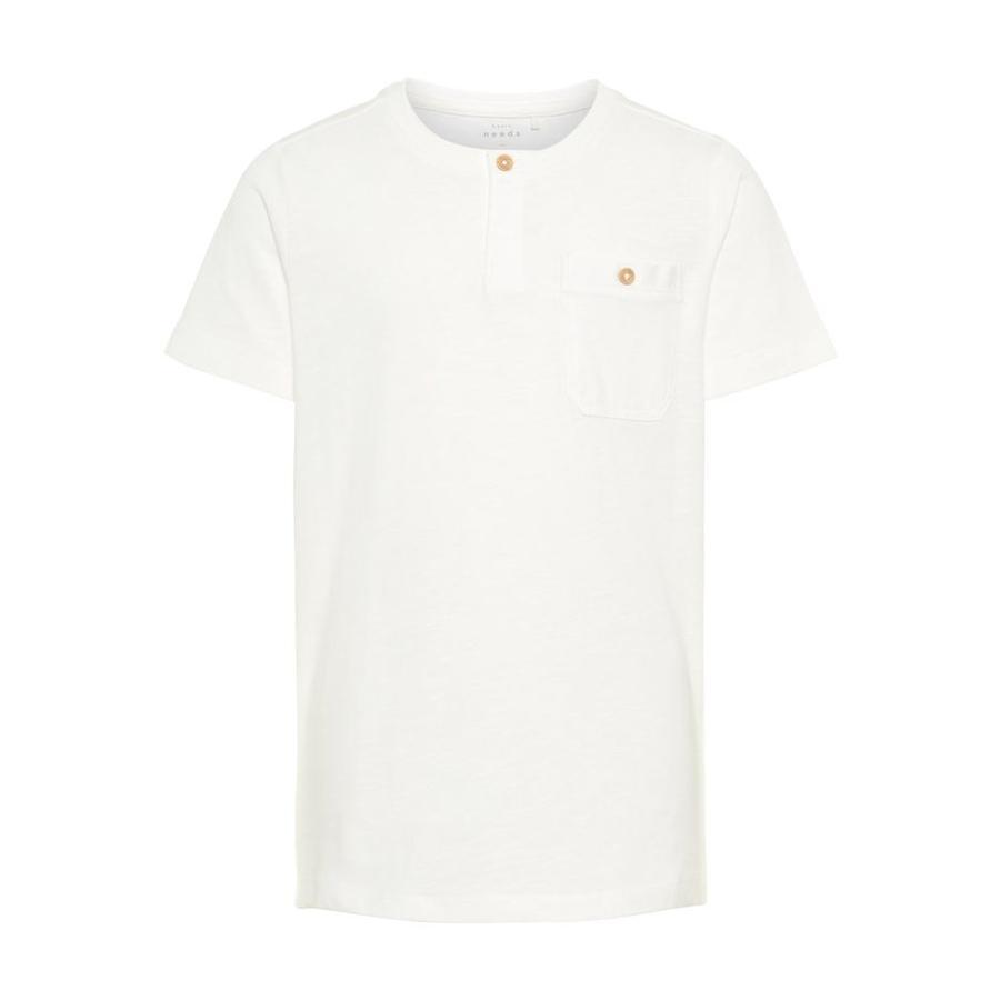 name it T-Shirt Nkmvennis jasna biel