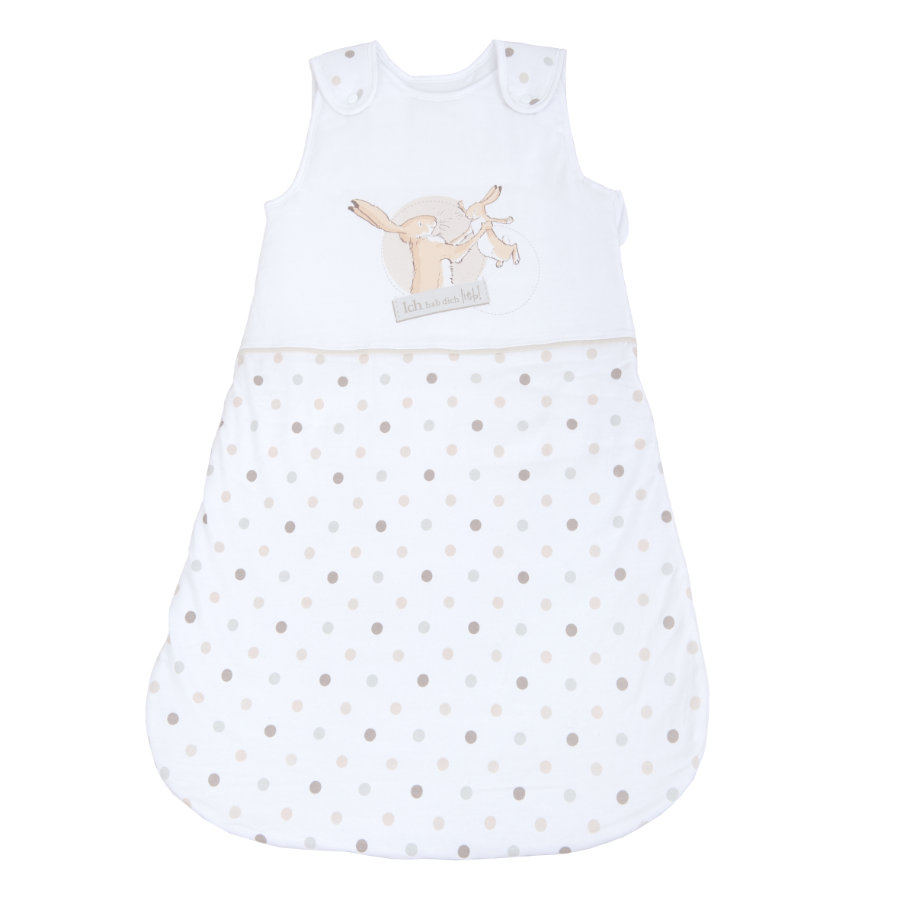 HERDING Gigoteuse bébé lapin Jersey premium