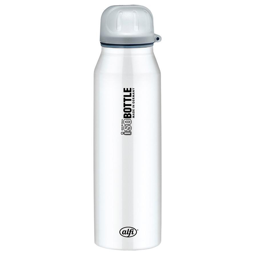 ALFI Trinkflasche ISO Bottle II aus Edelstahl 0,5l Design Pure White