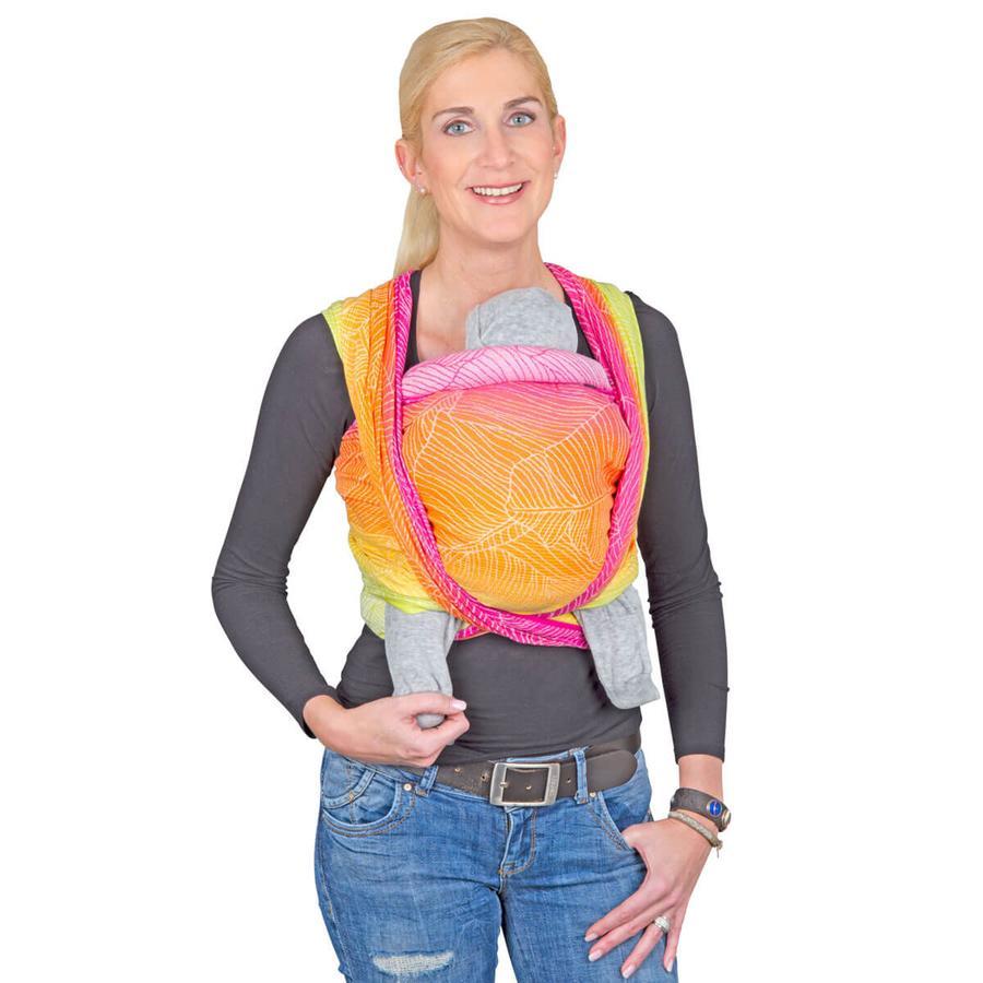 Hoppediz Maxi šátek na nošení Jacquard Quito Pastell limitovaná edice
