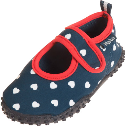 cortar vela pagar  Playshoes Protección UV Zapatos Aqua corazón azul marino - rosaoazul.es