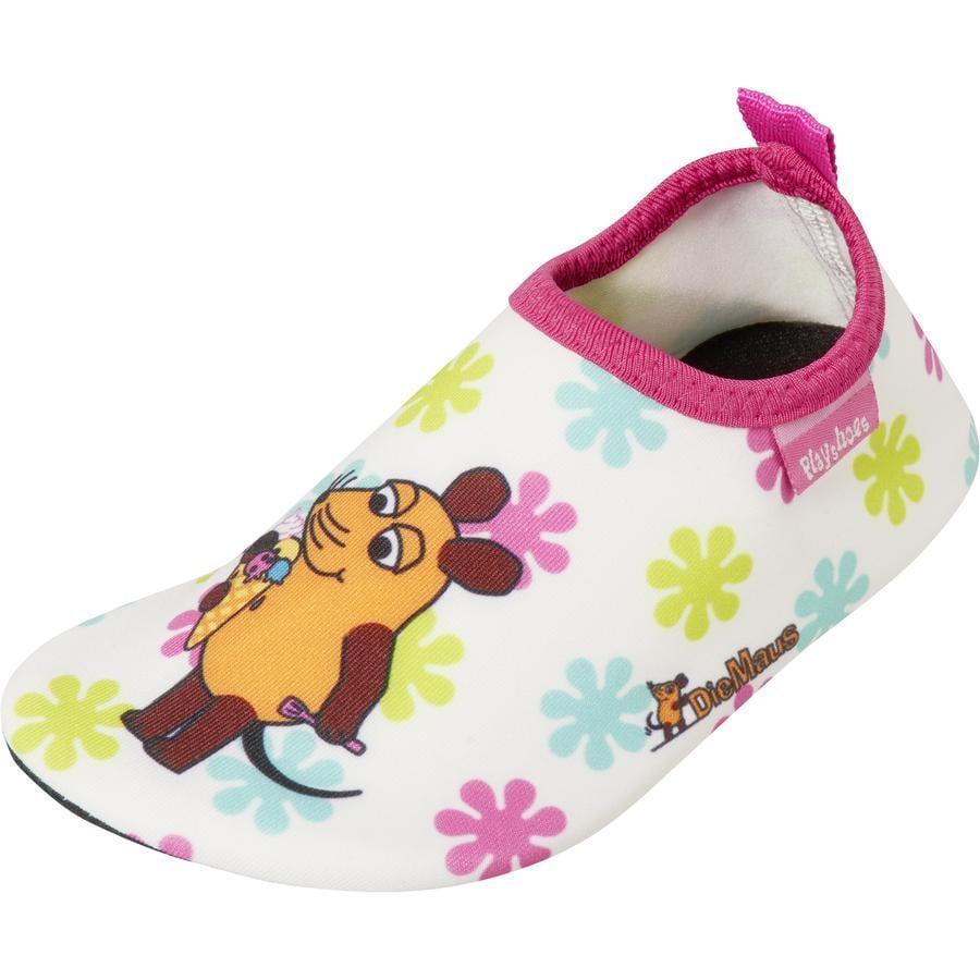Playshoes Barfuß-Schuh Die Maus rosa