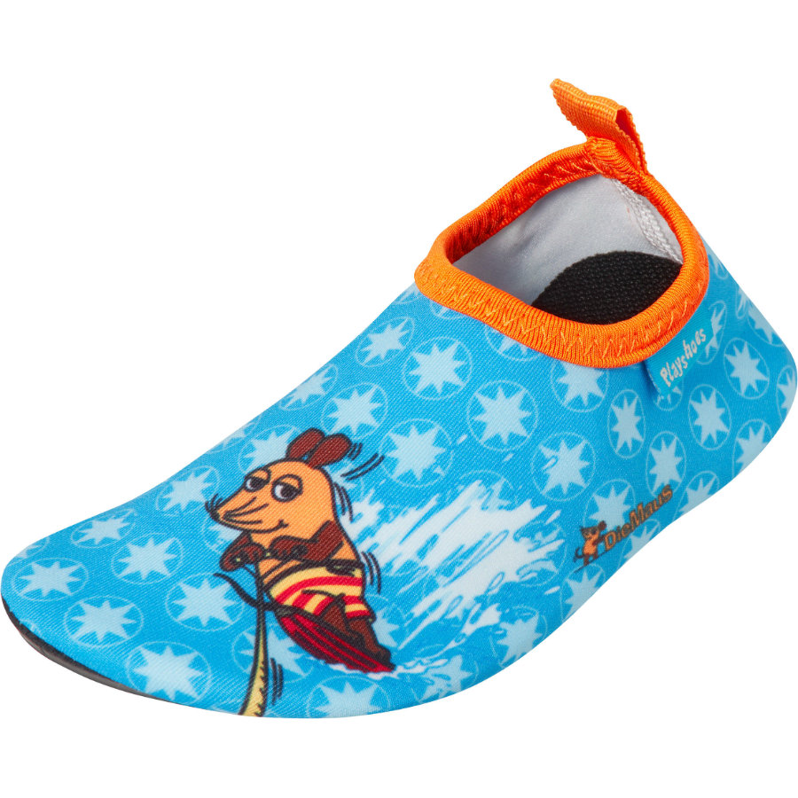 Playshoes Barefoot Shoe The Mouse bleu