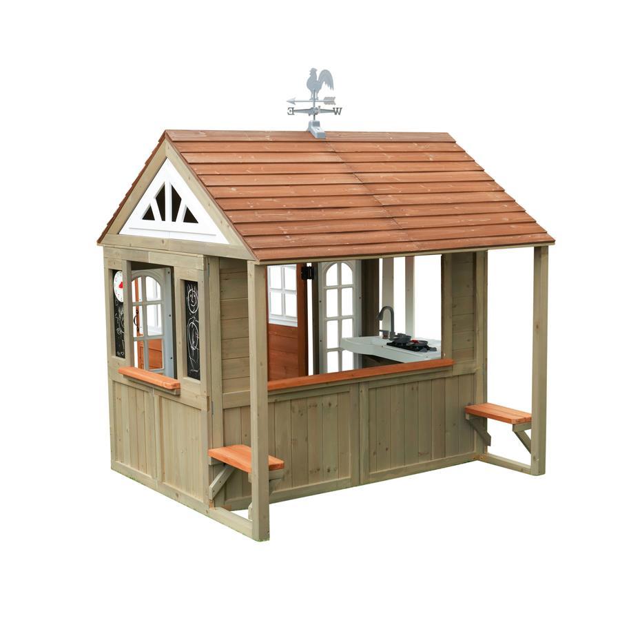 Kidkraft® Maison cabane de jardin enfant Country Vista bois P280097