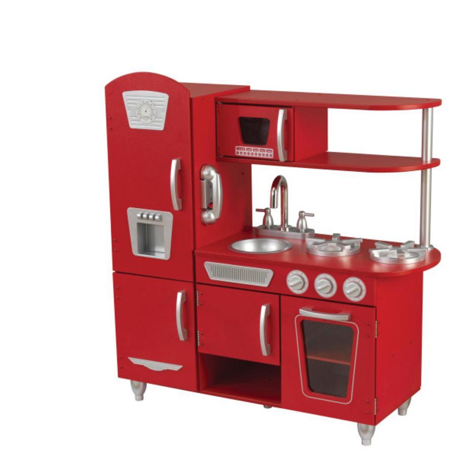 Kidkraft® Speelkeuken Vintage uit hout rood