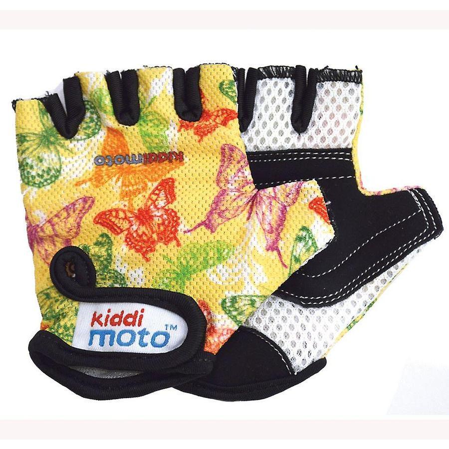 kiddimoto® Rukavice Design Sport, motýlci - M