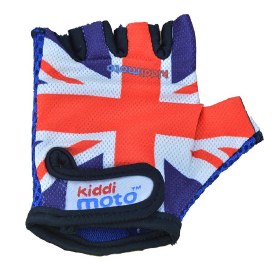 kiddimoto® Fahrradhandschuhe Union Jack - S