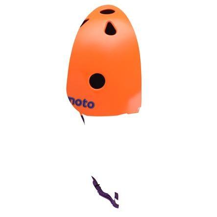 kiddimoto® Hjelm Design Sport, Neonorange - Gr. M, 53-58cm
