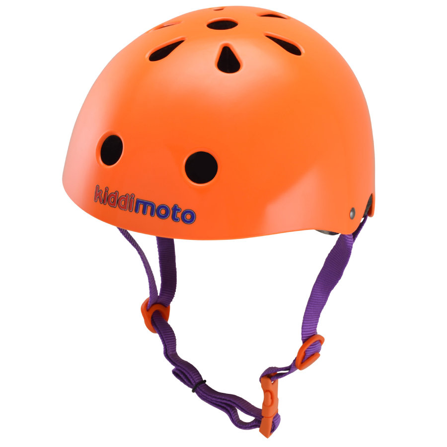 kiddimoto® Fahrradhelm Neon Orange M