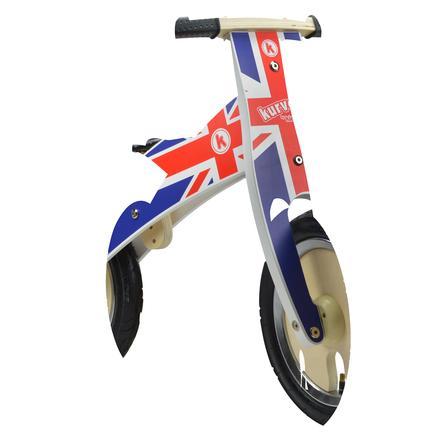kiddimoto® Premium Løbecykel- Union Jack/BritPop