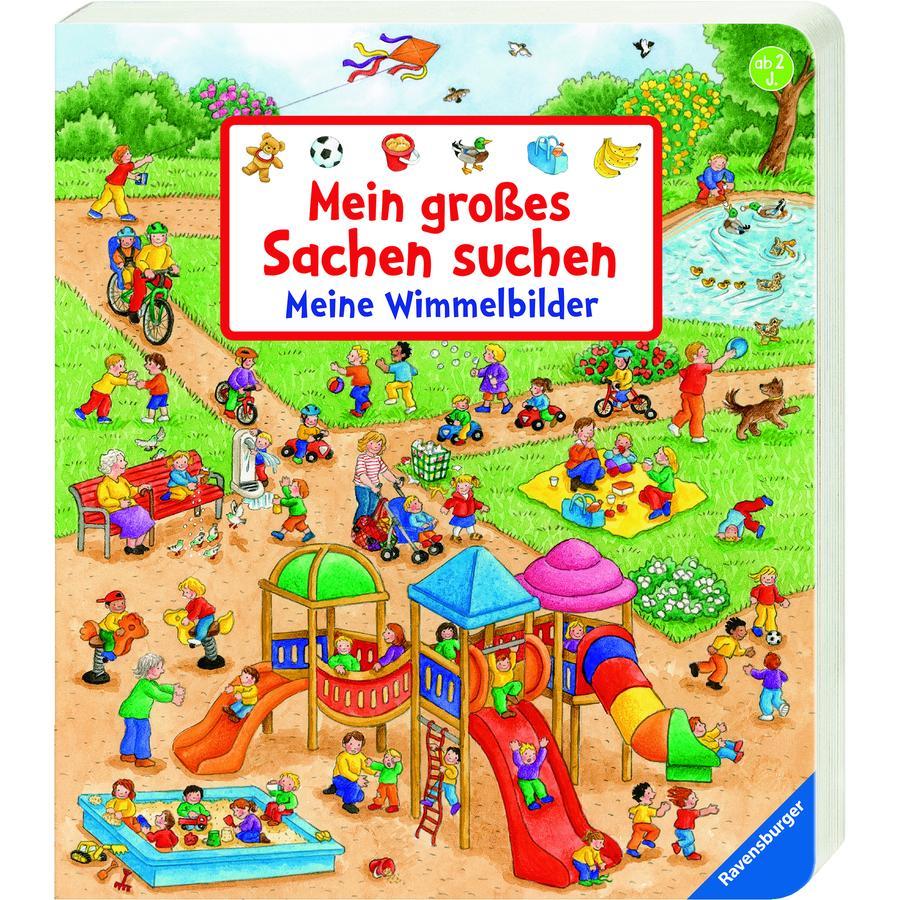 Ravensburger Mein großes Sachen suchen: Meine Wimmelbilder