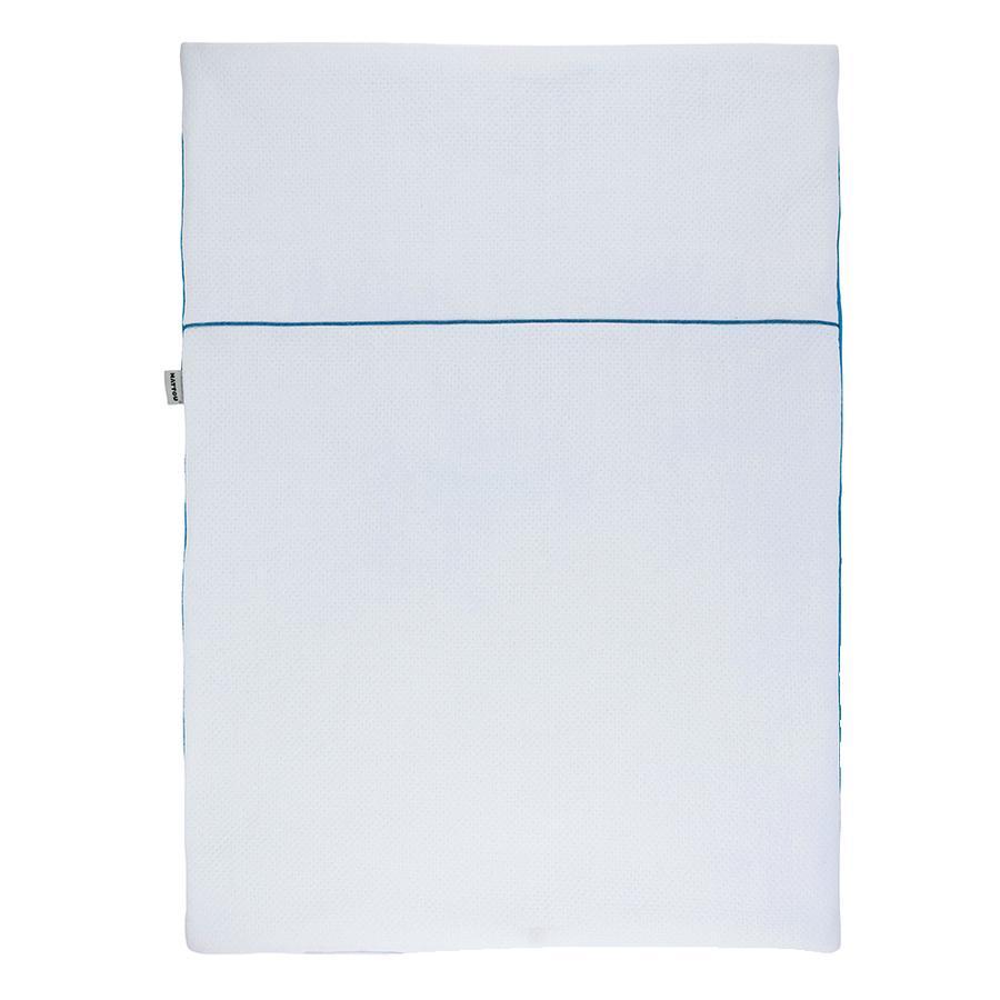 Nattou Kruipdeken pure blue 100 x 75 cm