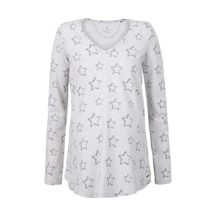 bellybutton Camisa de maternidad de manga larga con lunares