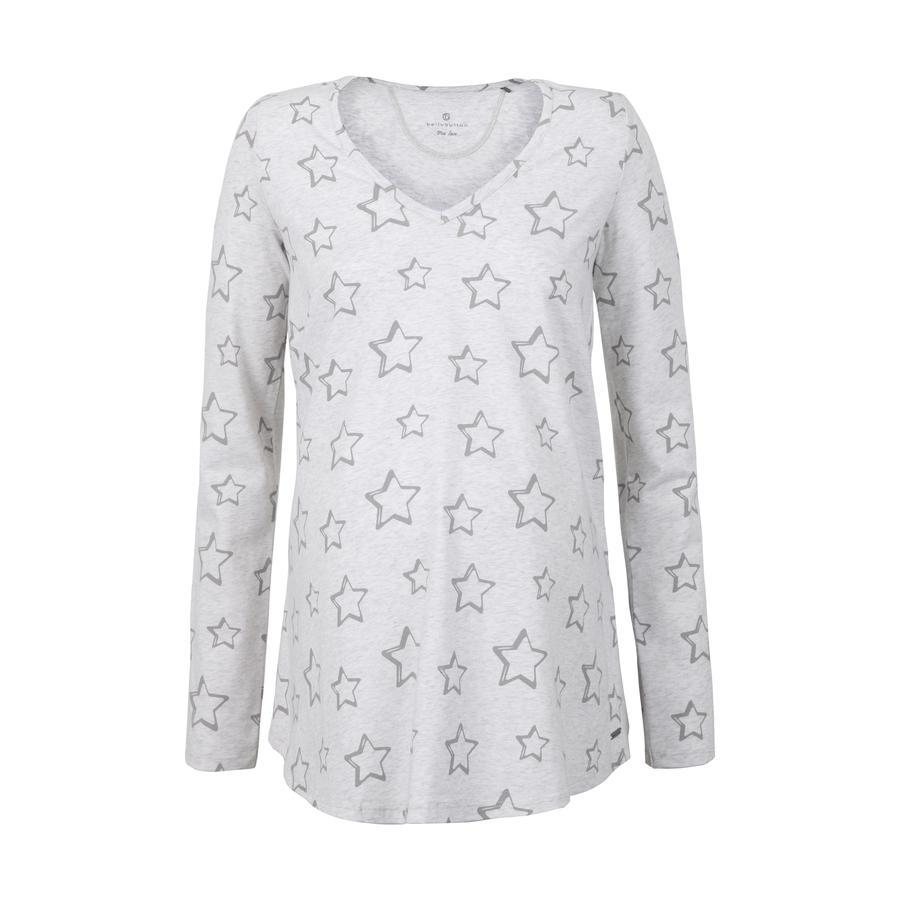 bellybutton Moderskap långärmad skjorta med prickar